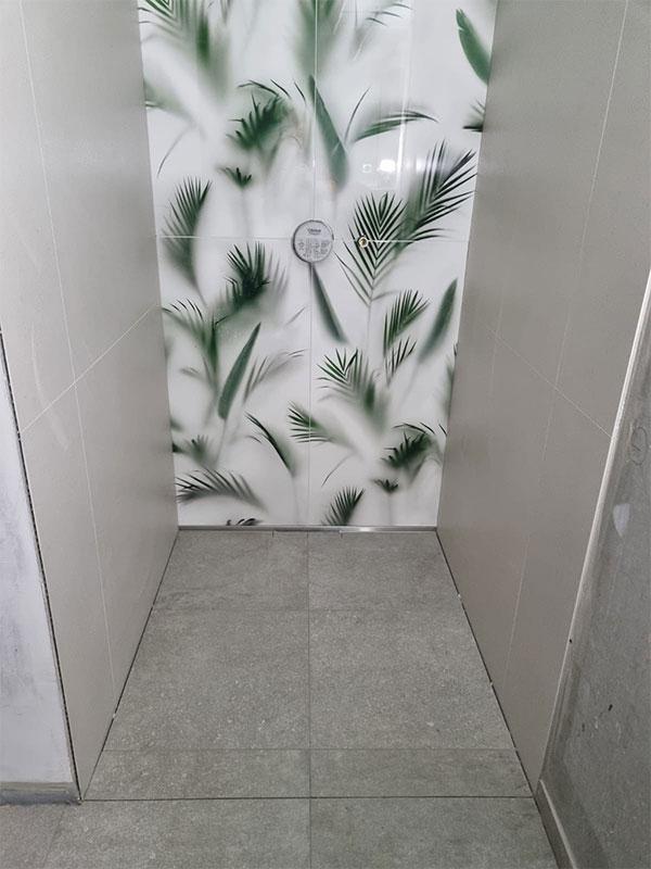Fliesen Beverungen-Dusche Fliesen Blätter
