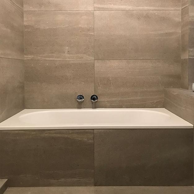 Fliesen Beverungen Badewanne gefliest